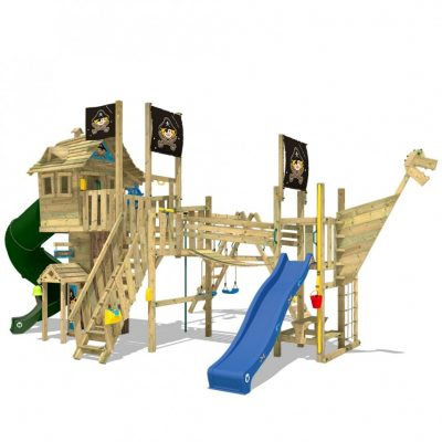 Fire the imagination and play outside with a climbing frame #AD