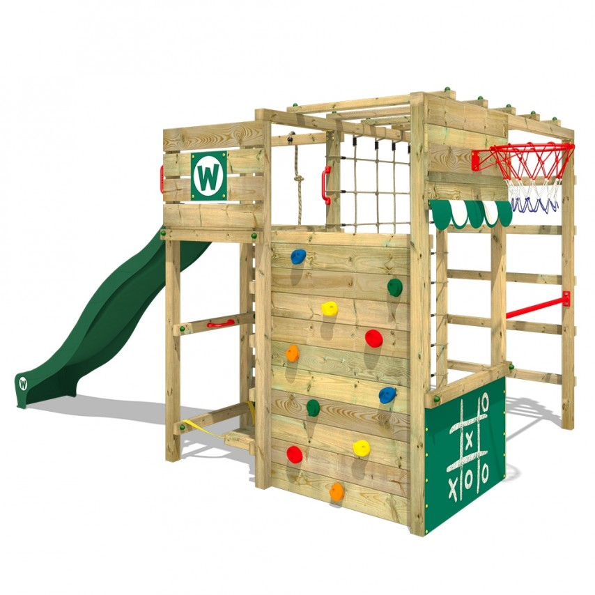 outside play, buying a climbing frame, timber climbing frame, wooden climbing frame