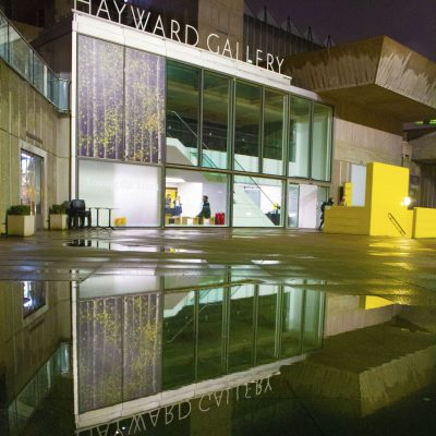 Hayward Gallery after the rain