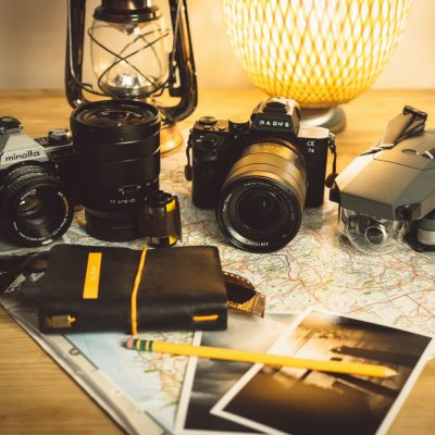 Camera storage solutions for travelling between countries #AD