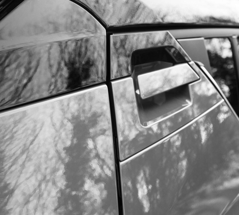 Toyota C-HR review, Toyota C-HR door handle