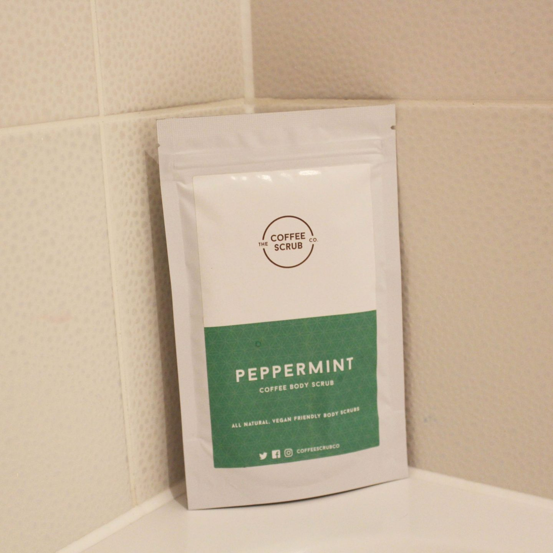 The Coffee Scrub Co. Peppermit Coffee Body Scrub, Body Scrub, dadbloguk, uk dad blogger, uk dad blog, Toppbox