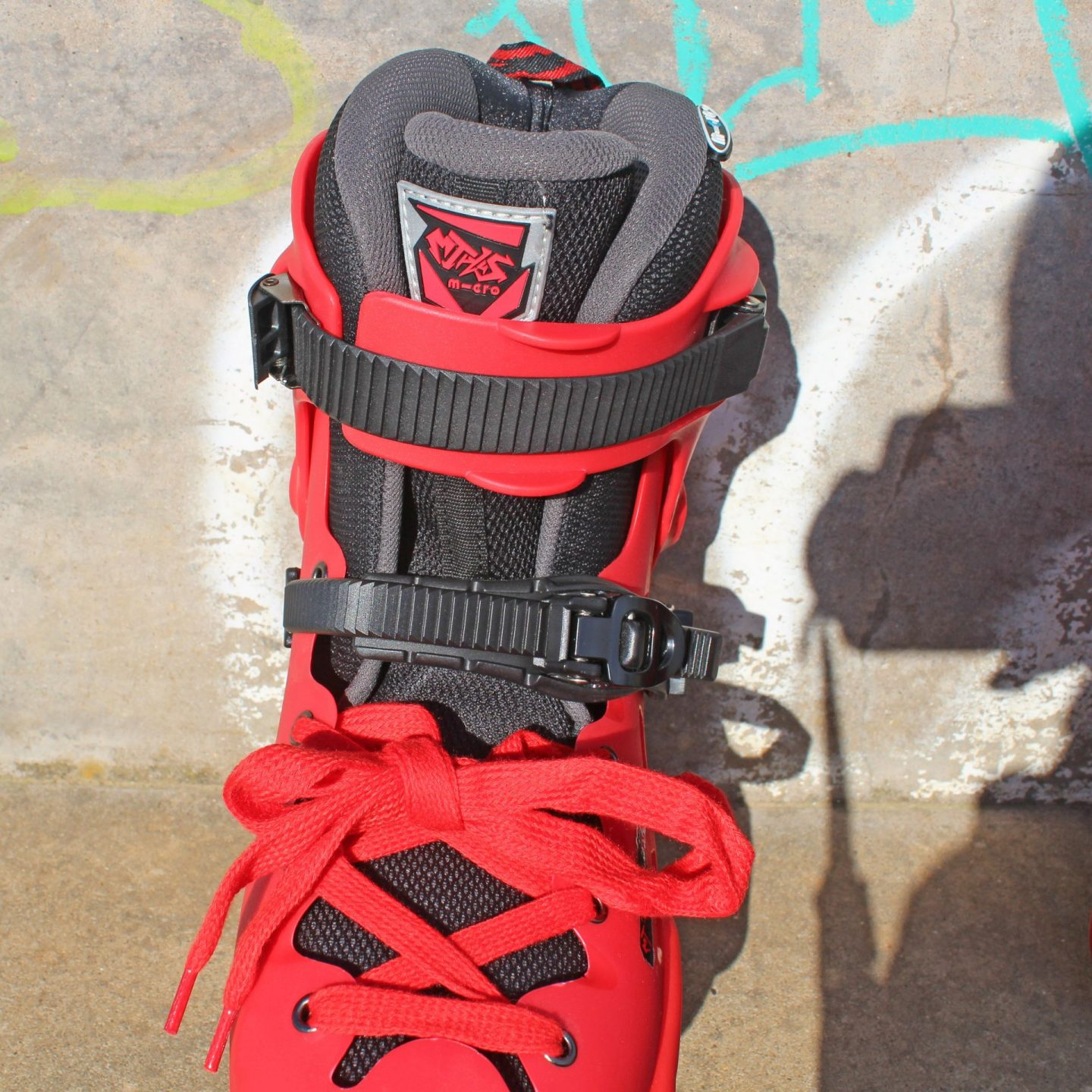A closer look at Microskaters MT Plus boot.