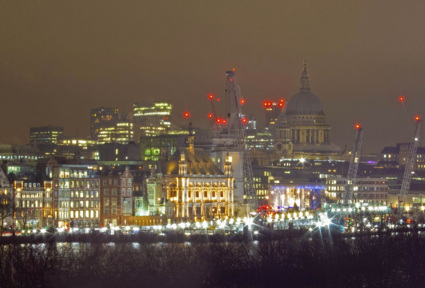 Last Normal photo, Photograph taken from National Theatre in London