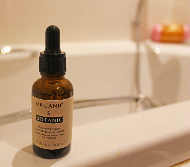 Organic and Botanic, facial serum, dadbloguk.com, Toppbox