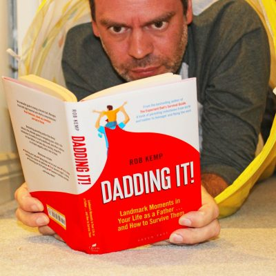 Dadding It! The latest book from Rob Kemp