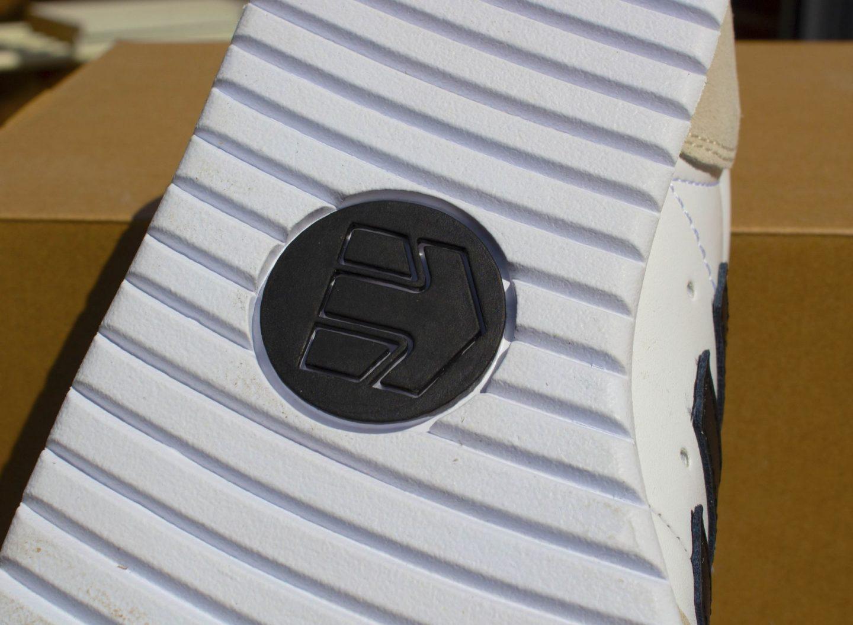 sole of a man's shoe