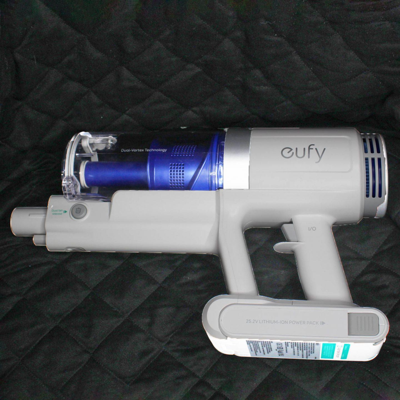 Eufy vacuum cleaner.
