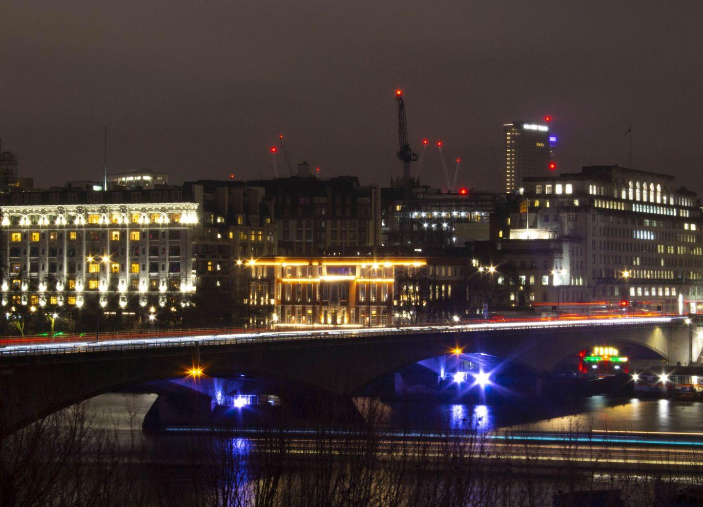 Waterloo Bridge in London, also known as the Ladies' bridge