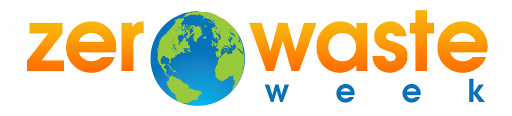 Reducing food waste, Zero Waste Week 2020 logo
