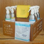 Clean Living: cleaning product review & giveaway #AD
