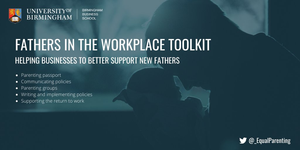 The fathers in the Workplace Toolkit from the Equal Parenting Project