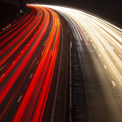 M25 motorway at night: Updated for 2020!