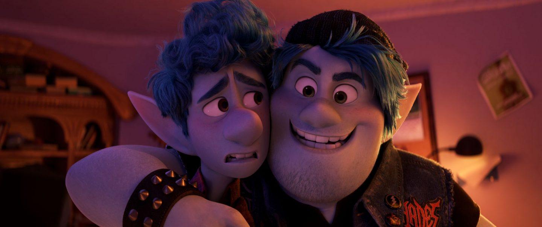 Ian and Barley Lightfoot, stars of the animated film Onward