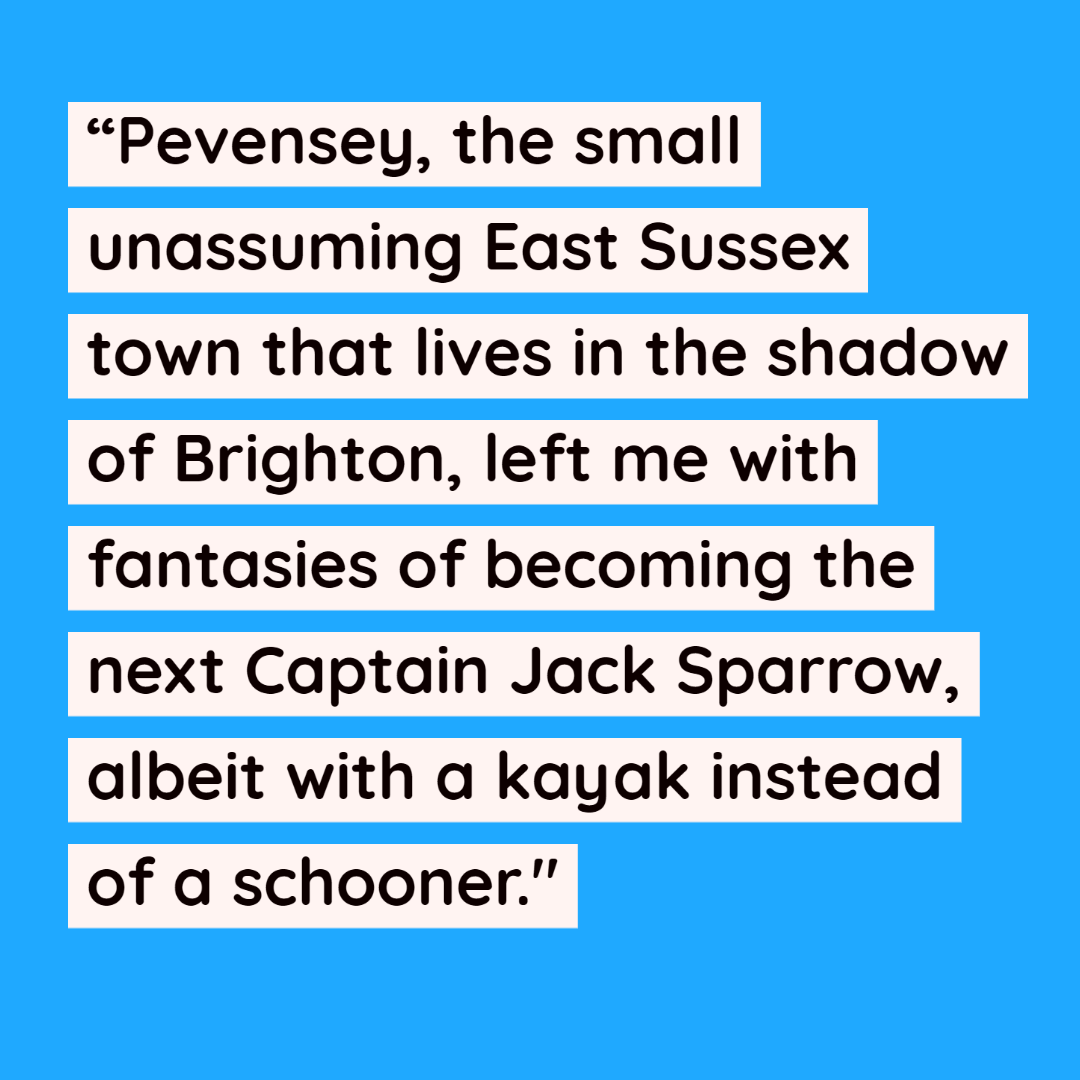 Quote about SUP, Pevensey and Captain Jack Sparrow