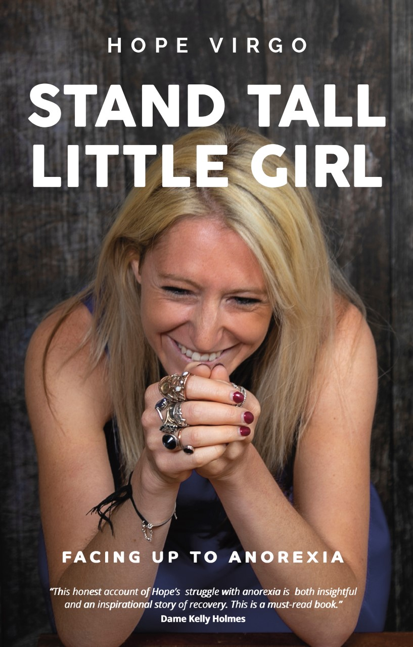 Cover of Stand Tall Little Girl, Hope Virgo's autobiography