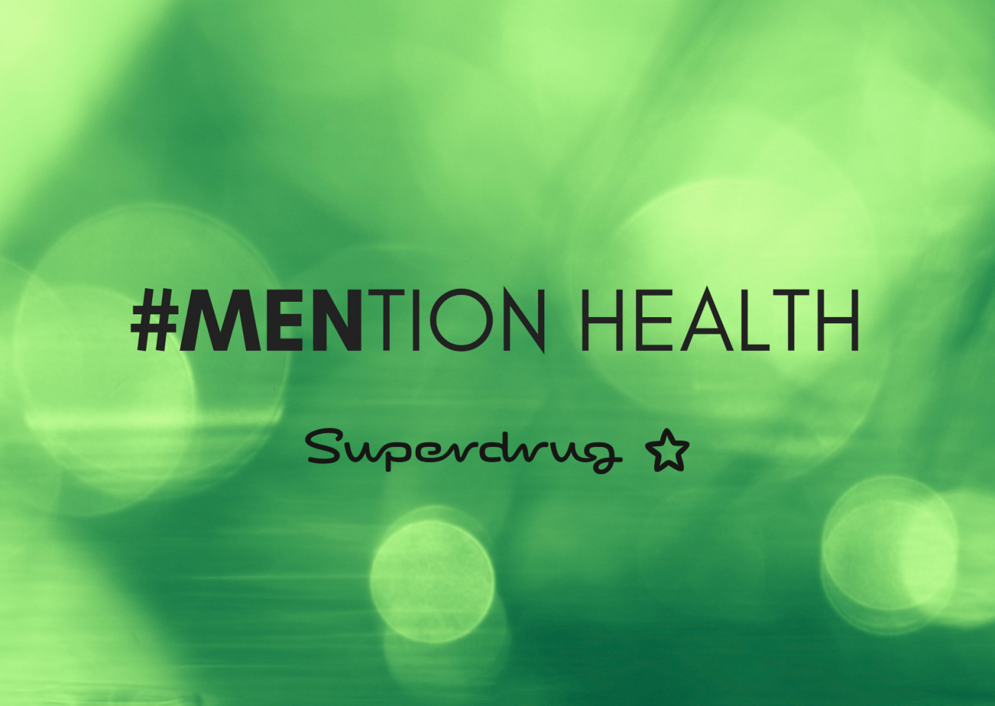 Mention Health panel discussion logo from Superdrug