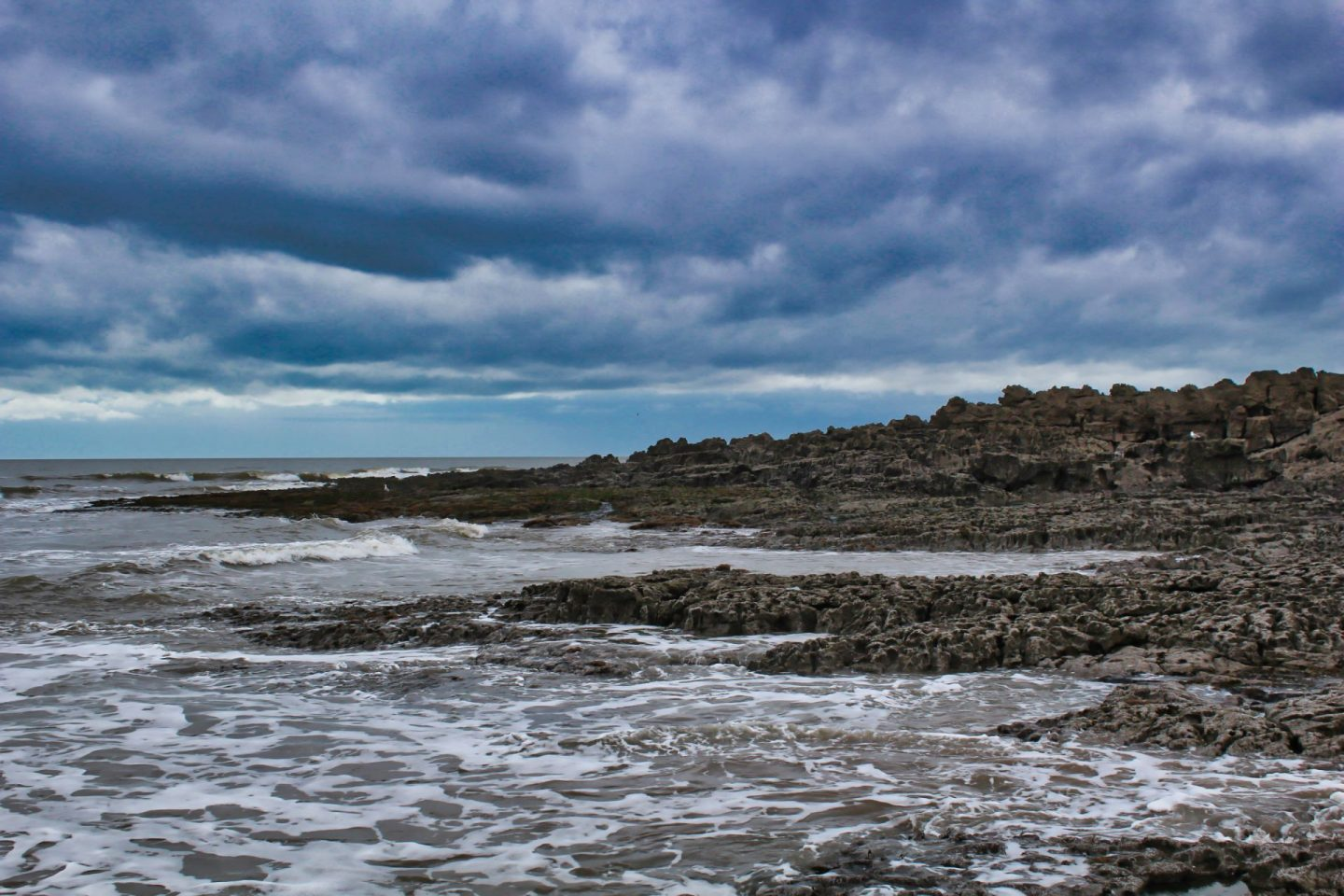 With a little help from my friends. A picture I took of the Welsh coast that was edited by a friend of mine.