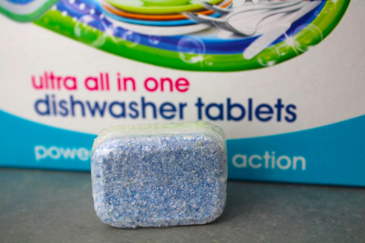 environmentally friendly dishwasher tablet from Ecozone.