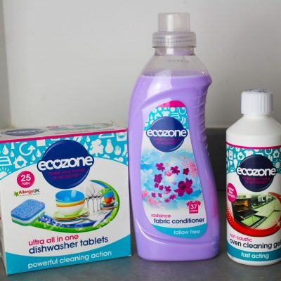 Reviewed: Ecozone cleaning and laundry products #AD