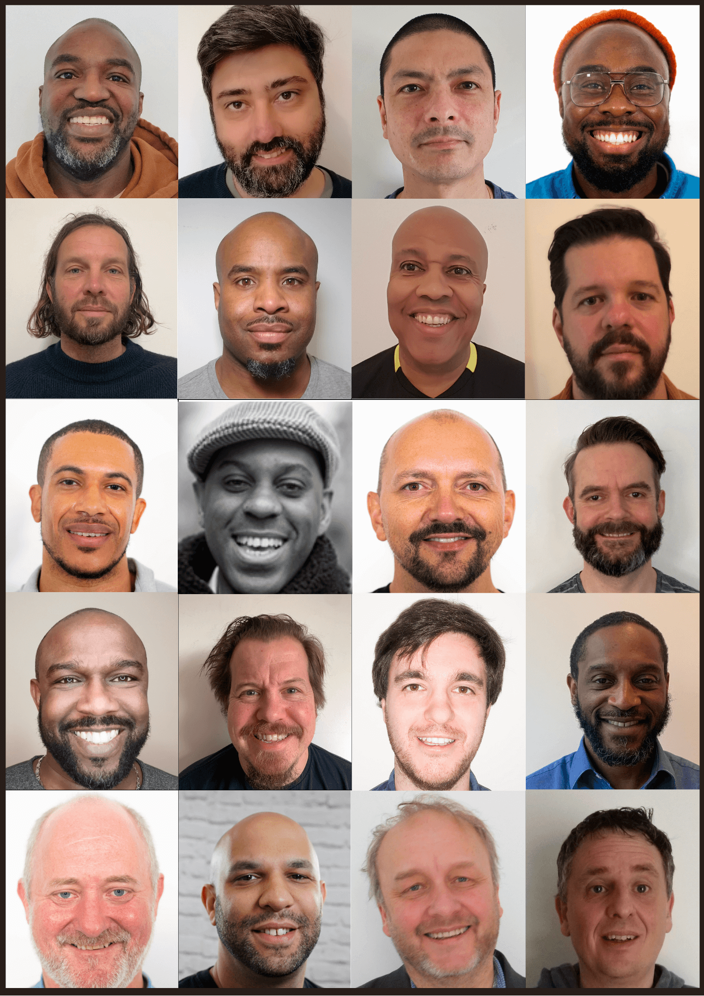 Contributors to Dad: Untold stories of fatherhood, love, mental health and masculinity