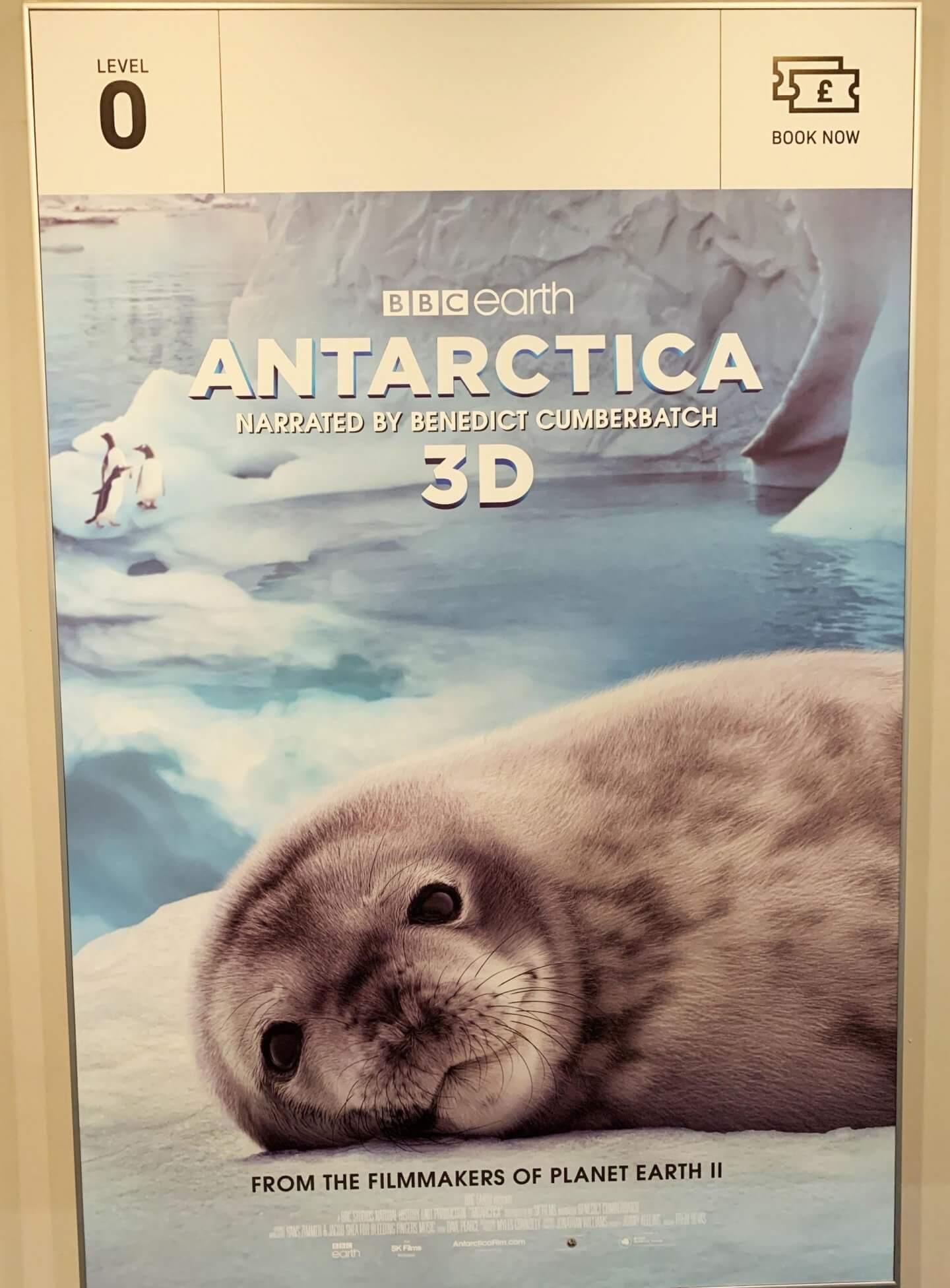 Benedict Cumberbatch, Antarctica film poster
