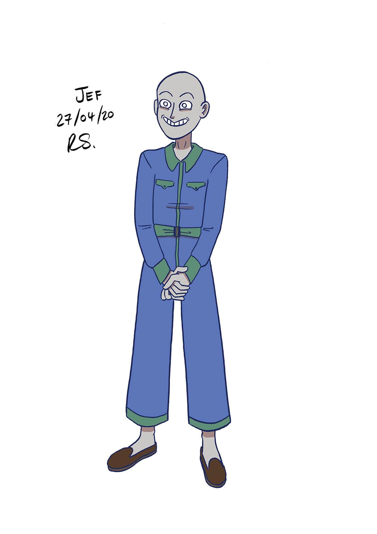 JEF character from The Rev, voiced by Juliet Aubrey