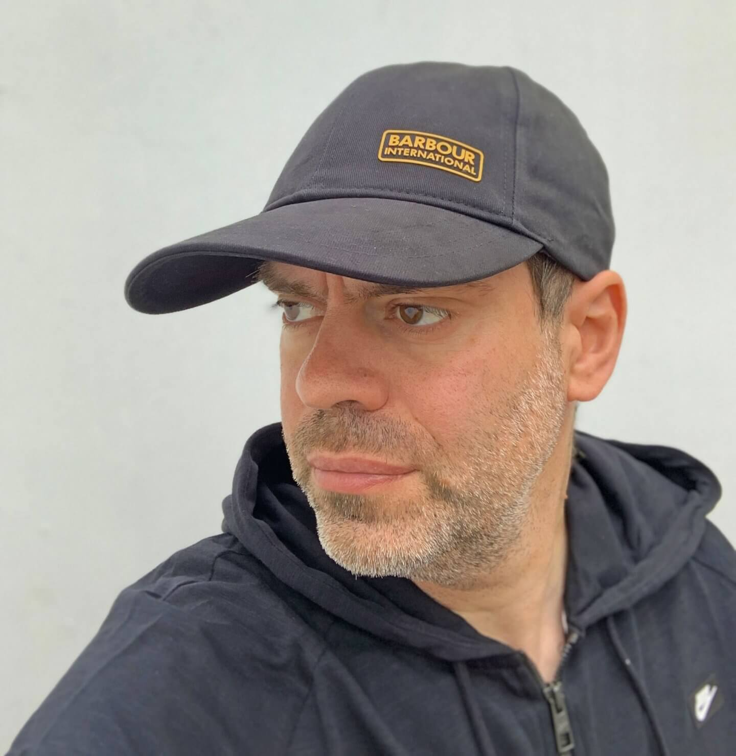 Barbour International cap part of Very menswear range of clothes