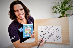 RNLI, Water Safety Wednesday, Liam Fayle-parr