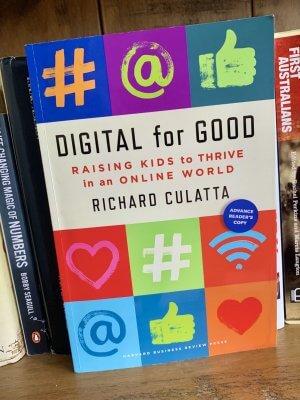 Book cover of Digital for GOod by Richard Culatta