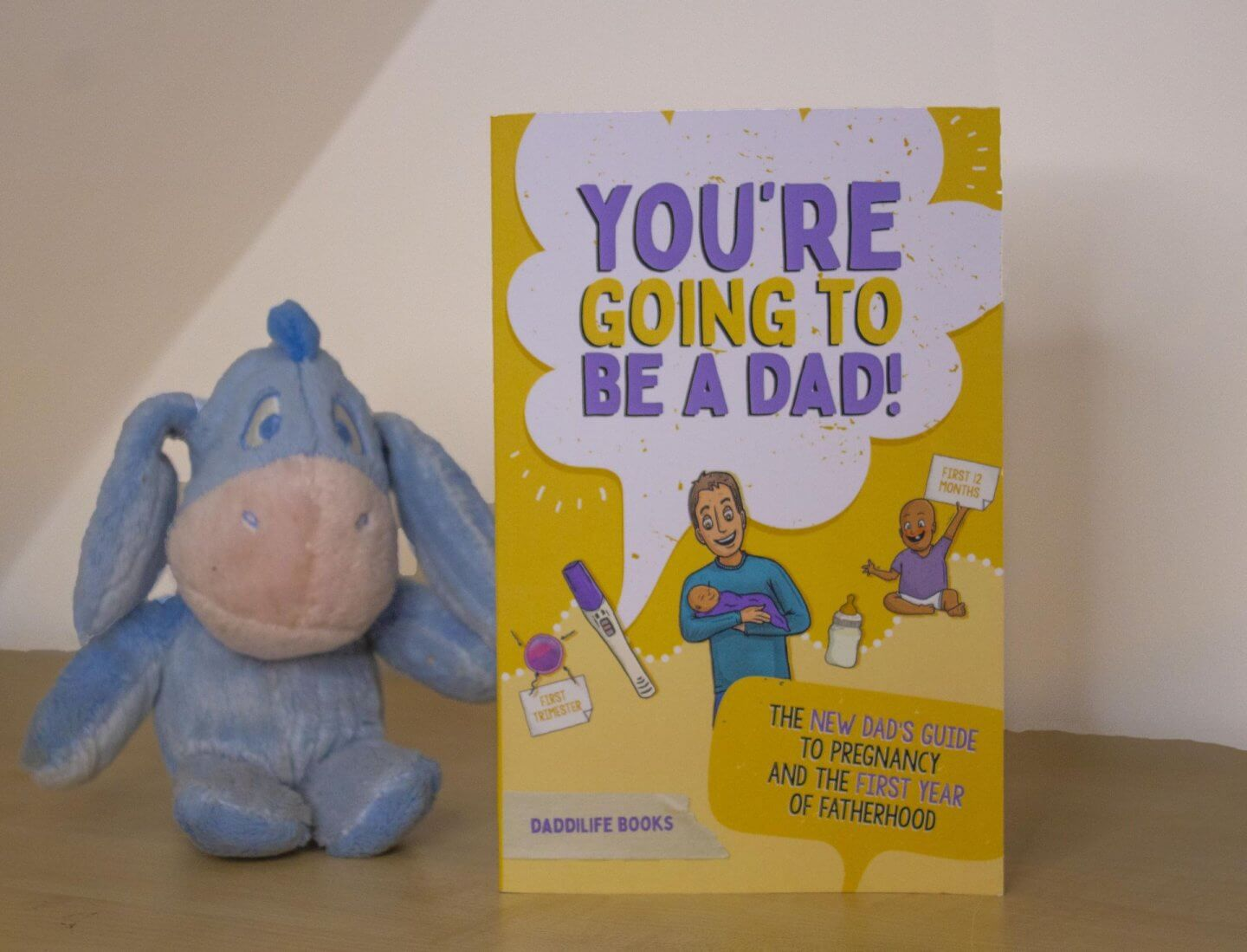 You're Going to be a Dad! Book cover.